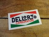 "Autocollant ""Dellorto carburatori"" carburateurs"