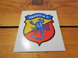 """Autocollant écusson logo """"ABARTH & C"""" des années 1950 à 1971"""