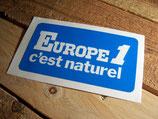 """Autocollant """"Europe 1 c'est naturel"""""""