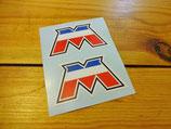 "Autocollants ""Logo M"" MBK 51"