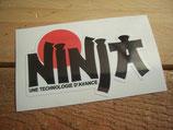 "Autocollant ""Ninja - Une technologie d'avance"""