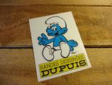 """Autocollant """"Bandes dessinées DUPUIS - Les Schtroumpfs - Peyo"""""""