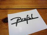 "Autocollant Peugeot 309 ""Profil"""