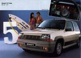 Kit deco pour Renault Super 5 GT Turbo phase 1