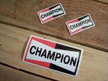 "Autocollants ""Champion"""