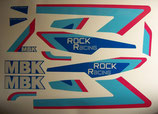 "Kit deco autocollant ""Rock racing"" bleue AM 1989-90"