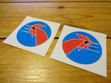 "Autocollants ""logo coq"" Matra sport"