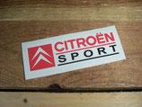 """Autocollant """"Citroën sport"""""""