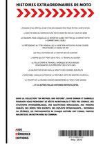 LIVRE - 20 HISTOIRES EXTRAORDINAIRES DE MOTO