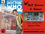 Doctor Who 11th #1 BaT Comics Variant Cover