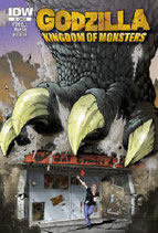 BaT Comic's Exclusive Godzilla #1 Limited Edition Cover