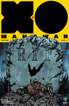 XO Manowar #12 BaT Comics Variant