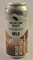 Wicklow Wolf x BRLO Bear with us  Hoppy Dark Lager