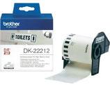 BROTHER DK-22212 endlos-Etiketten