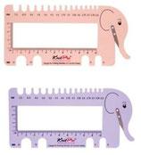 KnitPro - Jauge éléphant