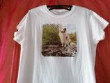 T Shirt mit einem Fotodruck