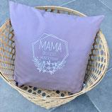 Kissen ''Muttertag hell lila'' 40 x 40 cm