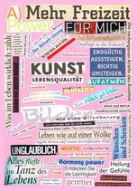 Postkarte, Andrea Hirche - Mehr Freizeit
