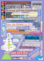 Postkarte, Andrea Hirche - Nicht aufzuhalten!