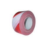 Barrier tape, white/red