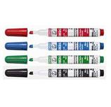 Whiteboard Marker, 4er Pack
