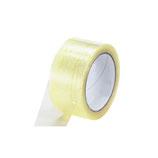 Packaging tape, transparent