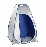 09.BUNDOKプライベートテント UV シルバー×ブルー