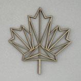 Maple leaf geometric