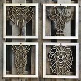 Lijstjes geometrische dieren