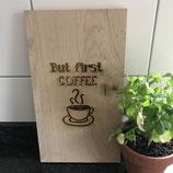 Snijplank coffee