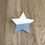 Wooden colored star