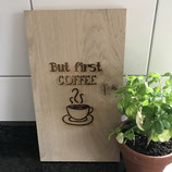 Cutting board coffee