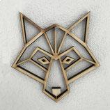 Houten wolfje