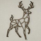 Deer standing geometric