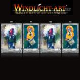 Basler Fasnacht - Artist Windlicht N° 8