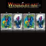 Basler Fasnacht - Artist Windlicht N° 3