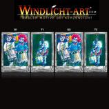 Basler Fasnacht - Artist Windlicht N° 9