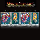 Basler Fasnacht - Artist Windlicht N° 2