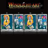 Basler Fasnacht - Artist Windlicht N° 6