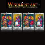 Basler Fasnacht - Artist Windlicht N° 12