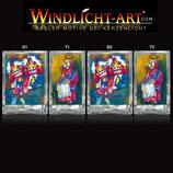 Basler Fasnacht - Artist Windlicht N° 7