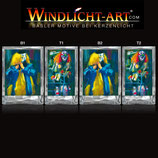 Basler Fasnacht - Artist Windlicht N° 1