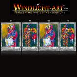 Basler Fasnacht - Artist Windlicht N° 4