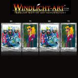 Basler Fasnacht - Artist Windlicht N° 14