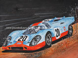 Motiv: Porsche 917K #20 Le Mans 1970 Steve McQueen