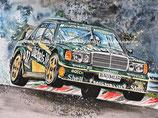Motiv: Mercedes Benz 190E2.5EVO2DTM #17 Roland Asch 1992