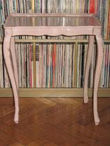 Table d'appoint rectangulaire ou table de nuit rose poudré