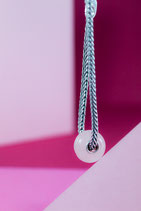 Ref.: 00369 Charms de Cuarzo color rosa