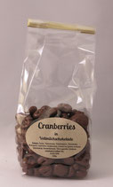 Cranberries in Vollmilchschokolade 150g