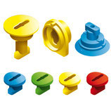 Screw Kit for Curved Slide